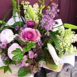 2011.03.31【注文したお花】 オーダーメイドギフト  【用途】お祝い