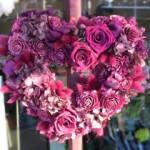2010.04.02【注文したお花】ハートプリザーブドリース【用途】結婚祝い
