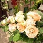 2011.05.11【注文したお花】バラとブルーベリーのアレンジメント 【用途】母の日フラワーギフト
