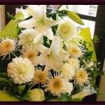 2011.03.16【注文したお花】 オーダーメイドギフト  【用途】納骨・一周忌のお花