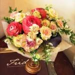 両親も、今までに見たことがないお花ばかりで、その美しさに驚き、大喜びしていました。
